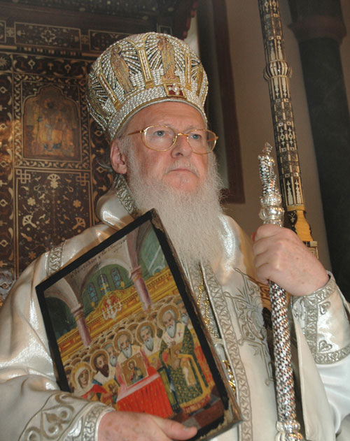 His All-Holiness Ecumenical Patriarch Bartholomew